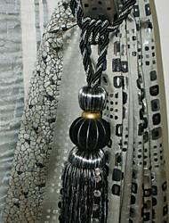 Tassel Moderno Negro (de una pieza)