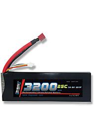 DLG 14.8V 3200mAh 4S 25C Lipo Battery
