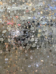 Modern Fancy Translucent Cobblestones Window Film