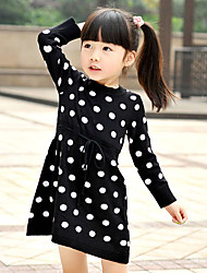 Girl's Dress Cotton Winter