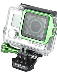 GoPro Aluminum Green LANYARD RING Mount with Hidden Screw Design for 3 Plus / 3+