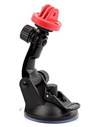 New Plastic Camera Stand Holder with Suction Cup for GoPro HD Hero 2 3 3+  Black Red