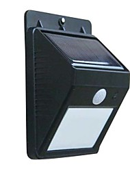 Sensore di Movimento PIR Solar LED Light Wall luci da giardino
