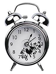 """4.72 """"H Muet colombe de paix de modèle Metal Alarm Clock"""
