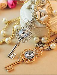 Dumoo Утонченная Ключ ожерелье Форма (случайная поставка & Просто только один)