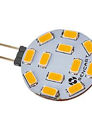 Faretti LED 12 SMD 5730 G4 4.5 W 300-320 LM Bianco caldo V