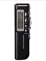 8G MP3 Digital Voice Recorder Schwarz