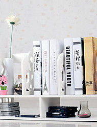 Moderno Padrão White Water Cube desktop Book Shelf