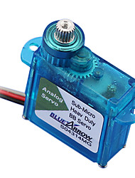 BlueArrow S04314MG Mini Metal Gear Servo analogique