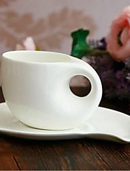 Wheck Coffee Mug,Porcelain 8oz