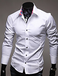 Men's Casual Shirts , Cotton Blend Casual DD Wear