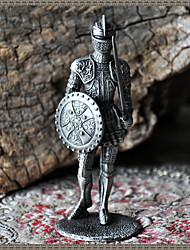 """4 """"H style européen Guerrier métal de collection"""