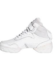 Unisex de cuero real superior zapatos de baile de danza moderna de las zapatillas de deporte para niños o adultos