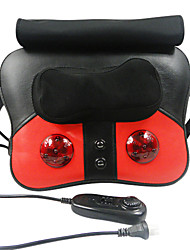 Neck,Back,Waist,Legs Kneading Shiatsu,Acupressure,Rolling,Percussion,Infrared,Magnetotherapy Massage Cushion