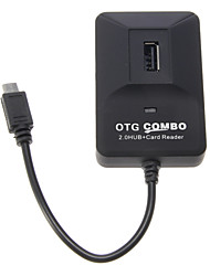 OTG intelligente Multi Fcuntion Combo per Smart Phone & Pad (2.0 HUB + Card Reader)