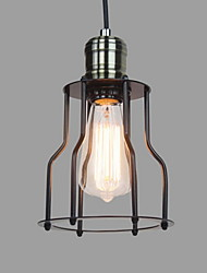 Max 60W Traditional/Classic / Vintage Mini Style / Bulb Included Painting Pendant LightsLiving Room / Bedroom / Dining Room / Kitchen /