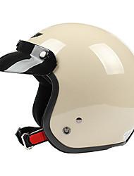 Khi-4 ABS Material Motorcycle Half Helmet