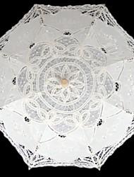 "Wedding / Masquerade Lace Umbrella White 29.9""(Approx.76cm)"