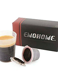 Espresso Coffee recarregáveis cápsula 10pcs dentro