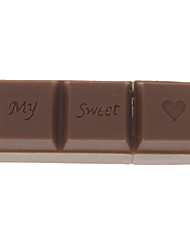 PenDrive USB em forma de chocolate 16gb
