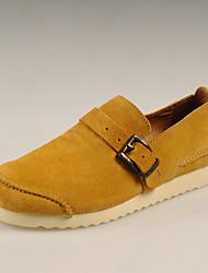 Chaussures Handmade Simul marées Chaussures Chaussures en cuir (jaune)