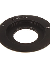 С-M4 / 3 объектива камеры переходное кольцо (черный)