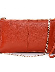 Women's Genuine Leather Envelope Clutch Designer Handbags Messenger