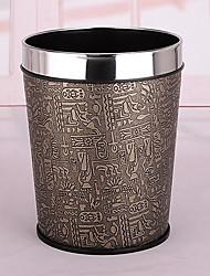 Moda aço inoxidável Rim egípcio Stripe Bin