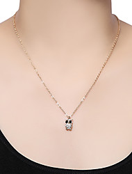 Jewelry Pendant Necklaces Daily Alloy Women Gold Wedding Gifts