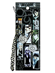 Bleach The Eleventh Team Agent Card Mobile Phone Strap Cosplay Accessories