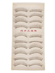 Hand-made Natural False Upper Eyelashes 219