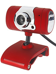 5.0 Megapixel USB 2.4 PC Webcam fotocamera con CD