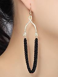 Earring Drop Earrings Jewelry Women Wedding / Party / Daily Alloy Gold