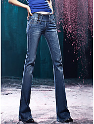 TS Vintage Magro Cut Flares Cintura Oriente Washed Jean