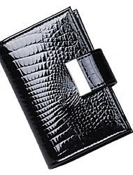 Mega Fashion Patent Card Holder (Black)