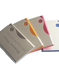 le titulaire cadeau du jour de bonbons de couleur gravé de carte de visite du père personnalisé (couleurs assorties)