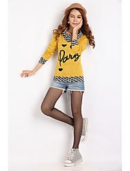 Shuxueer WCL020 Abnehmen gereinigte Baumwolle gelben Pullover
