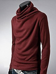 Men's Fashion Turtleneck Long Sleeve T-shirt
