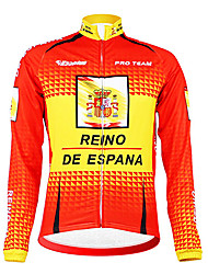 Kooplus - Spanish National Team Cycling Long Sleeve Fleece Jersey
