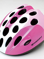 MOON Cycling Pink PC/EPS 21 Vents Honeycomb Helmet for children