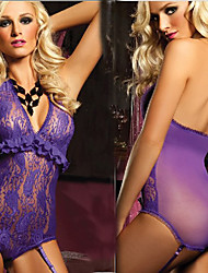 Seductive Girl Lace Corset Style Women's Lingerie Sexy Uniform