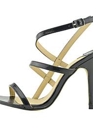 Élégantes en cuir brevets Stiletto Heel Sandals Fête / Soirée Chaussures (Plus de couleurs)
