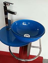 Contemporânea Colourfull Rodada 310E pia do banheiro com descarga de água do banheiro torneira do banheiro