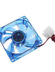8cm 8005 + CP LED LYF manga Fan DC 12V 0.18A