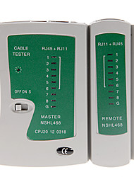 NS-468 RJ45/RJ11/RJ12 LAN кроссовера / тестер телефонного кабеля