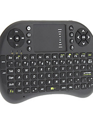T2 sem fio 2.4G Mini Teclado com Touchpad para PC Pad Google Andriod TV Box