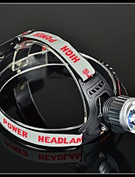 Headlamps LED 5 Mode 1200 Lumens Rechargeable / Compact Size / Small Size / Impact Resistant 18650 Working - Others , Grey Aluminum alloy