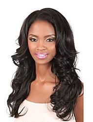 22inch 100% brasileira Virgem Full Lace Wig