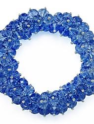 Fashion Glass Beads Stretch Bracelet