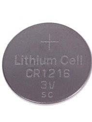 (5 x) TTIANQIU CR1216 3V batería de litio de la célula del botón